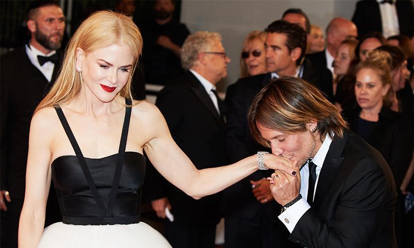 Nicole Kidman, conmovida hasta las lágrimas en Cannes