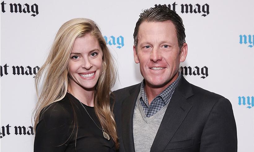 Lance Armstrong anuncia su compromiso con Anna Hansel