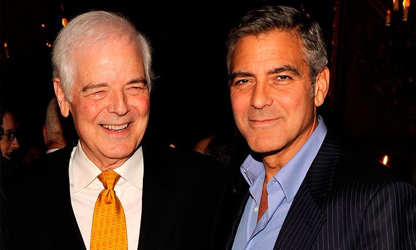 El papá de George Clooney celebra la llegada de sus nietos: 'Son absolutamente hermosos'