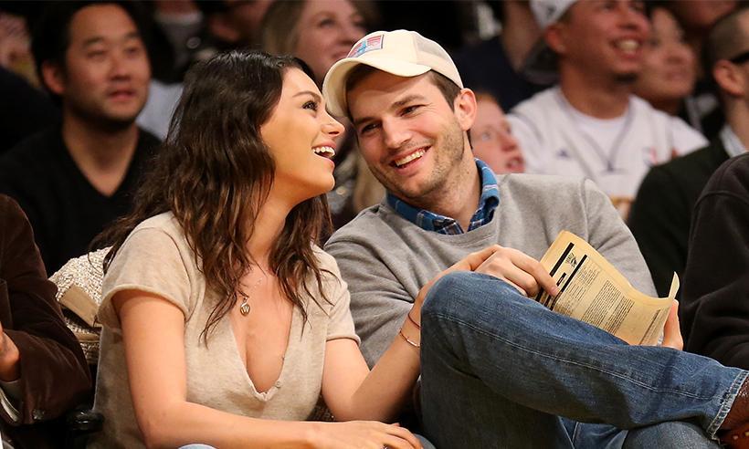 Ashton Kutcher revela que Mila Kunis cambió el nombre de su segundo hijo de último momento