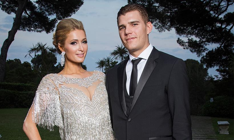 El romántico mensaje de Paris Hilton a su novio Chris Zykla