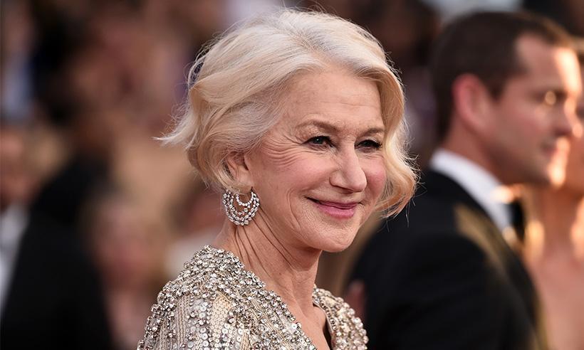 Helen Mirren, orgullosa de haber sido embajadora de belleza a los 69 años