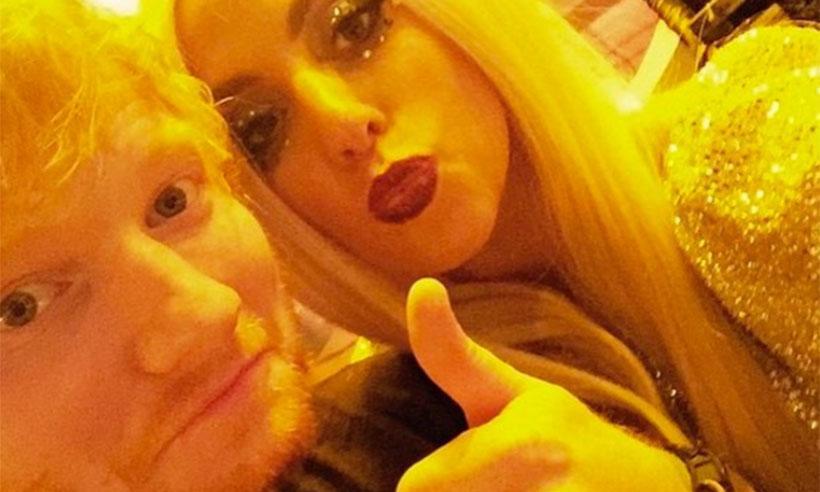 Lady Gaga defiende a Ed Sheeran por su decisión de abandonar Twitter