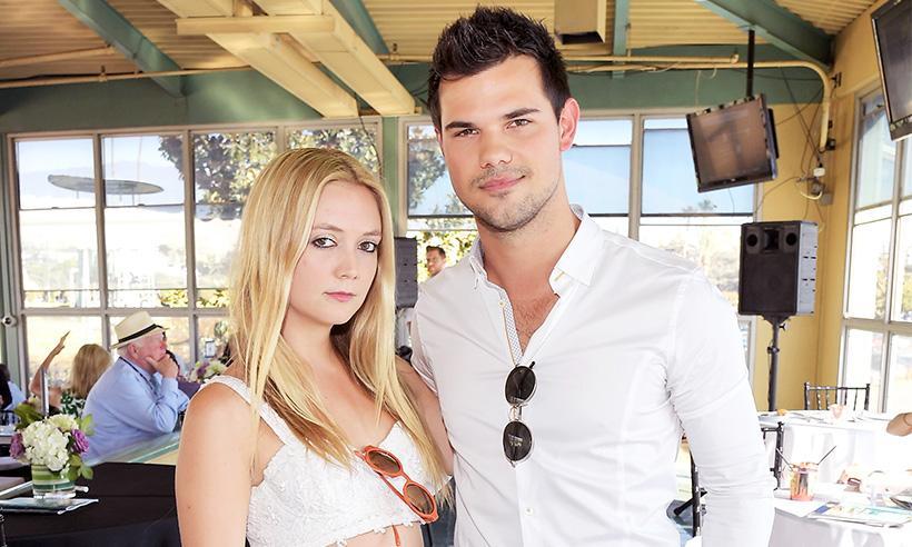 Taylor Lautner y Billie Lourd ponen fin a su relación tras ocho meses de noviazgo