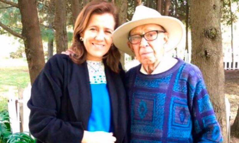 Fallece a los 85 años el papá de Margarita Zavala