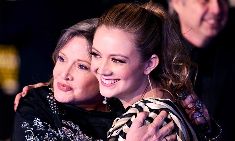Billie Lourd celebra su cumpleaños número 25 con emotivo tributo a Carrie Fisher
