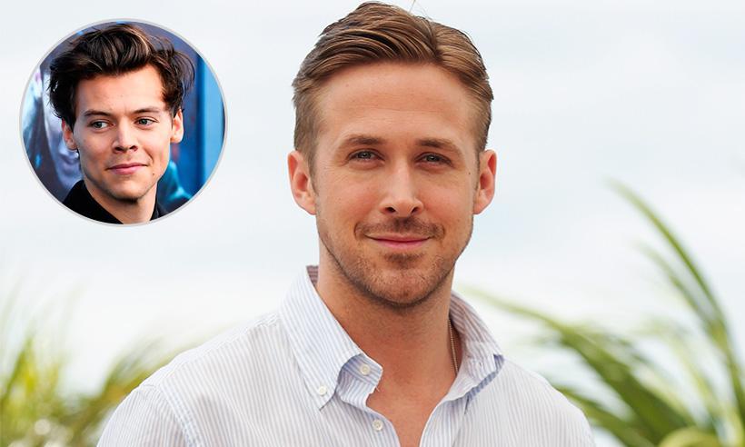 La divertida respuesta de Ryan Gosling a la reacción de Harry Styles después de verlo sin camisa