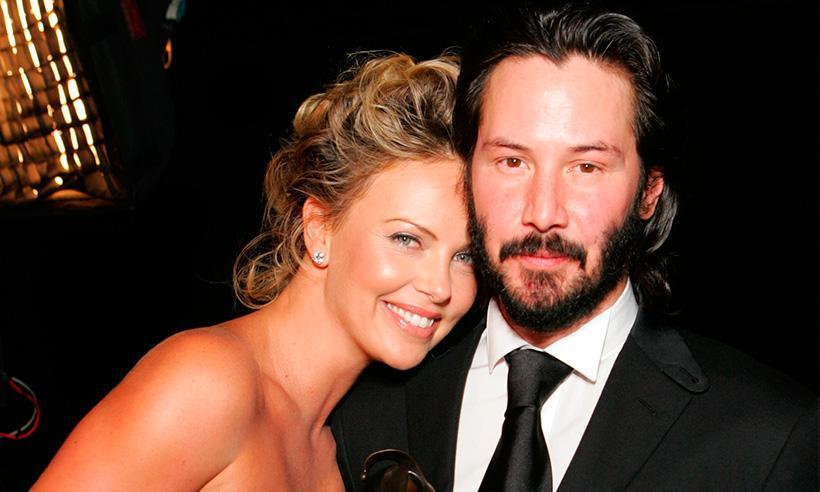 Charlize Theron y Keanu Reeves, los mejores compañeros de entrenamiento