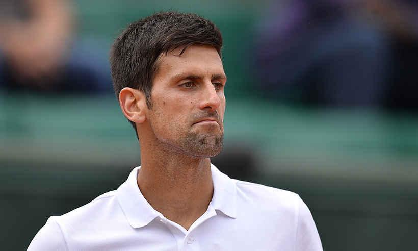 Novak Djokovic, alejado de las canchas lo que resta del año