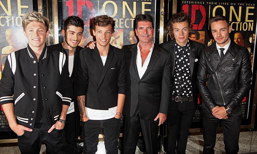 Simon Cowell deja abierta la puerta para una eventual reunión de One Direction