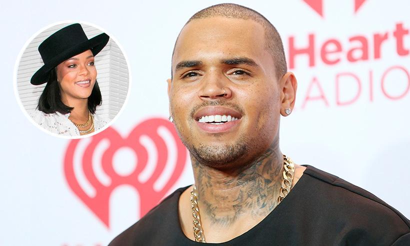 El inesperado comentario de Chris Brown en una fotografía de Rihanna
