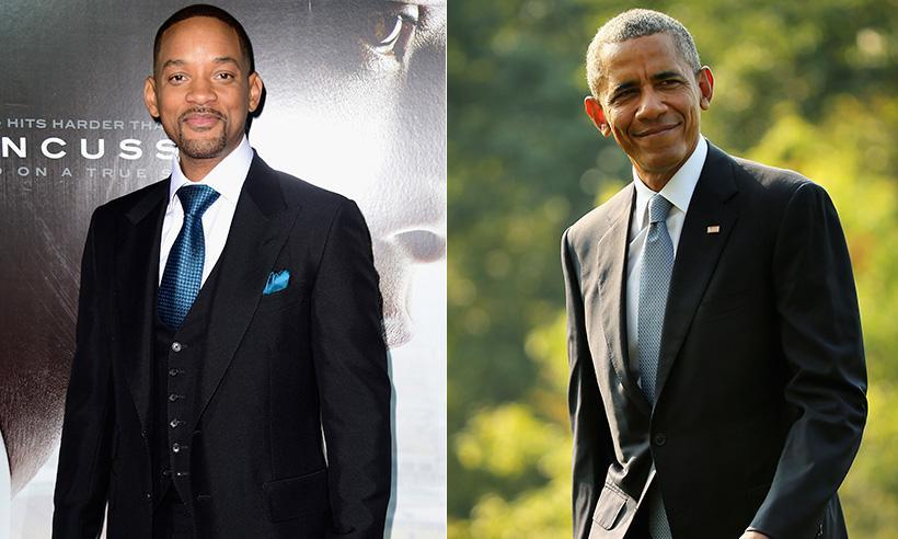 Esta es la razón por la que Barack Obama elegiría a Will Smith para protagonizar una película de su vida