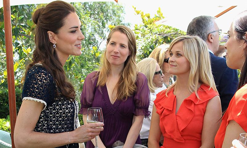 Reese Witherspoon revela que está obsesionada con Kate Middleton