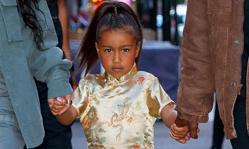 ¿Celosa? North West no se acostumbra a la idea de no ser hija única