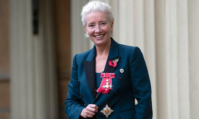 Emma Thompson y su inolvidable anécdota con el Príncipe William al ser condecorada