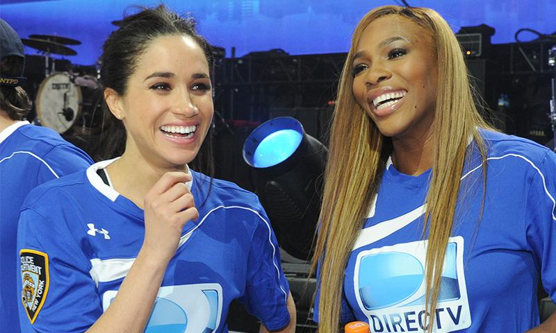 Serena Williams revela cómo fue planear el baby shower de Meghan Markle