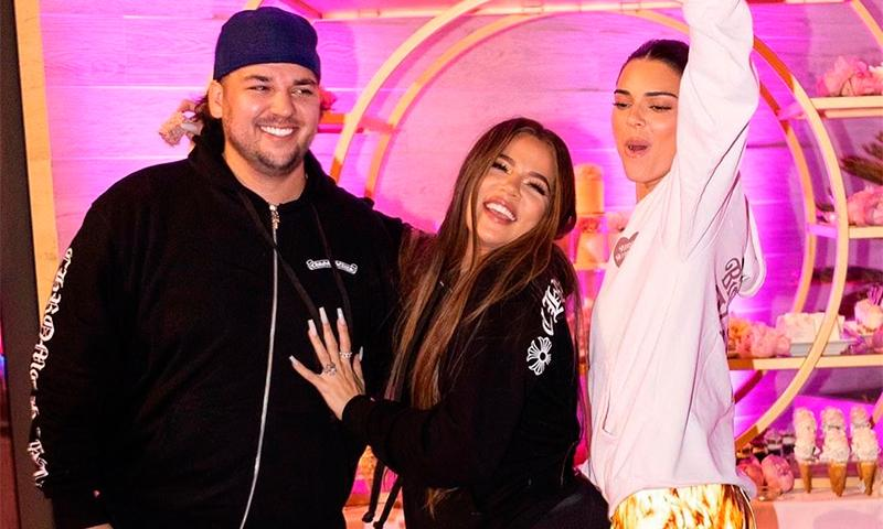 Khloé Kardashian anuncia que su hermano Rob regresará al reality familiar