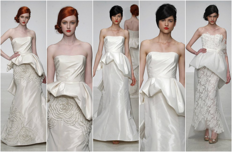 El próximo año, los vestidos de novia también se apuntan a esta