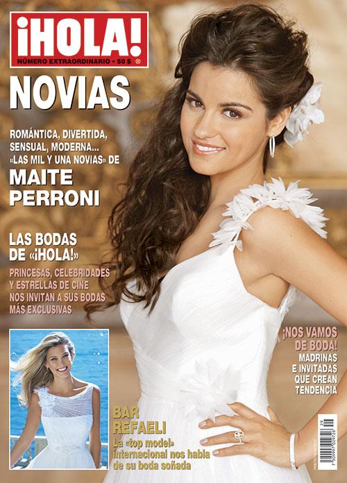 Especial Novias: Las 'mil y una novias' de Maite Perroni