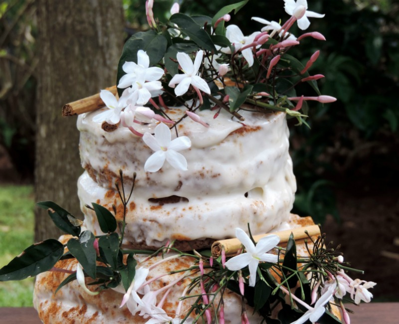 novias tarta de crema