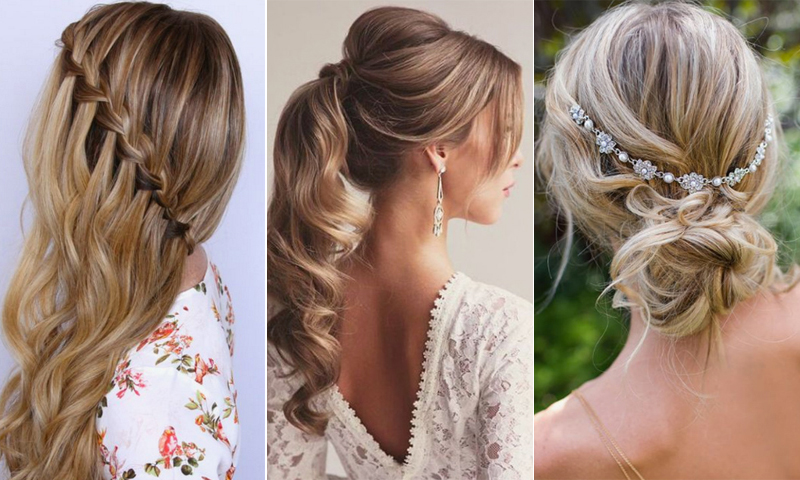 Ideas bonitas para peinados con coleta para boda Imagen De Consejos De Color De Pelo - 10 bonitos peinados para invitadas inspirados en Pinterest ...
