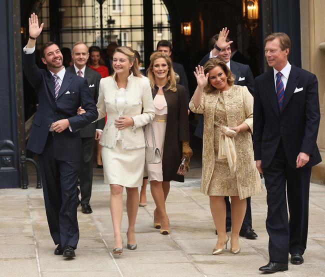 La boda civil de guillermo de luxemburgo y st phanie de lannoy - Fotos boda civil ...