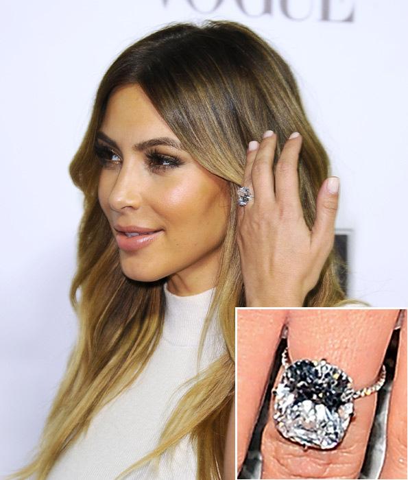 Kim Kardashian Old Engagement Ring