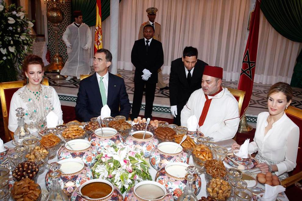 Felipe vi y letizia de espa a llegan a marruecos como - Casa de los reyes de espana ...