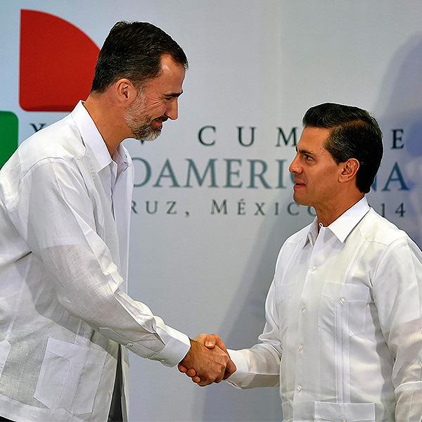 Rey Felipe y Peña Nieto