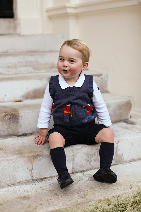 El Príncipe George de Cambridge vive su primera aventura navideña