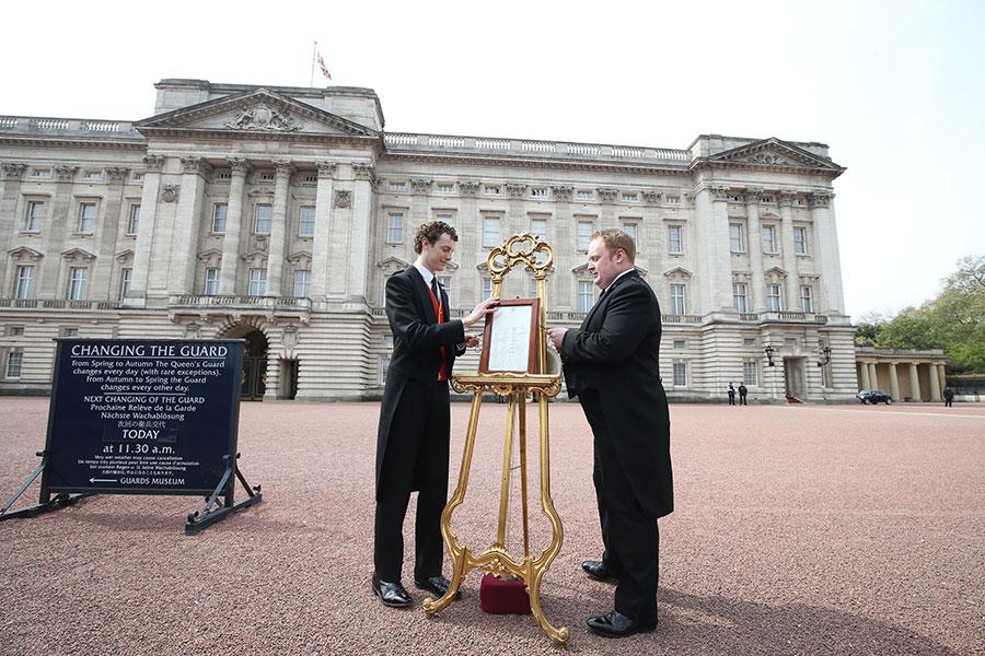 Bebé Real: así fue el anuncio oficial del nacimiento de la Princesa de Cambridge