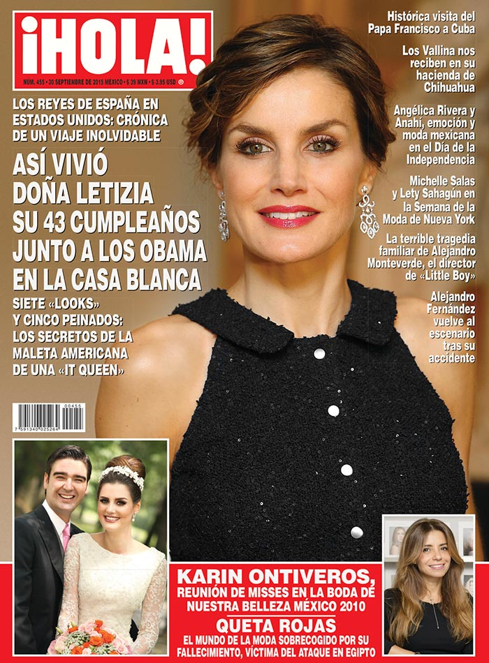 Esta semana en hola as vivi do a letizia su 43 for Revistas de espectaculos de esta semana