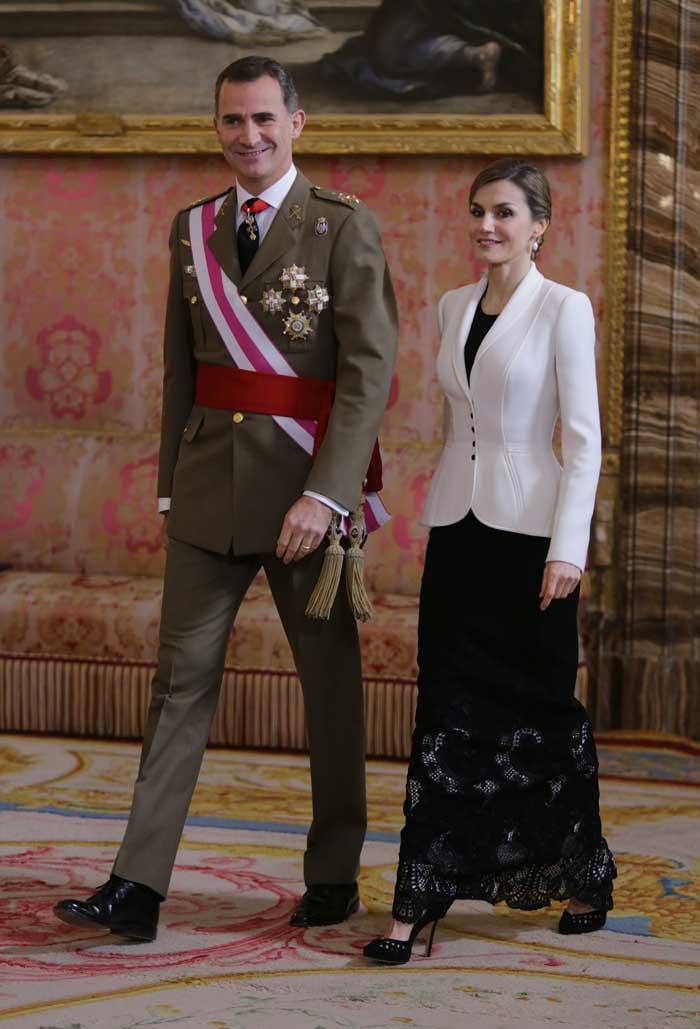 As fue el d a de reyes para don felipe do a letizia y - Casa de los reyes de espana ...