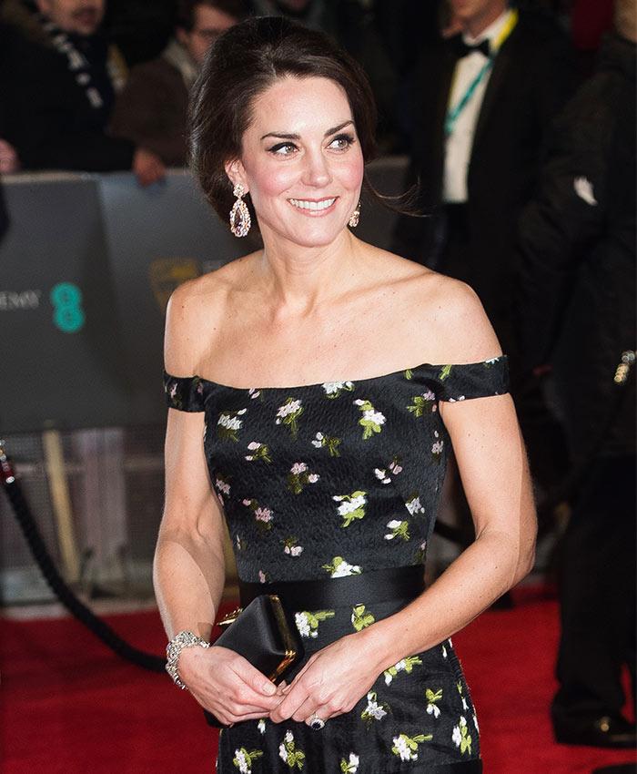 Las espectaculares joyas con las que la Duquesa de Cambridge deslumbró en la alfombra roja