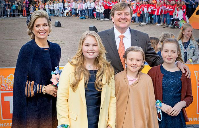 Holanda está de fiesta por los 50 años del Rey Guillermo Alejandro