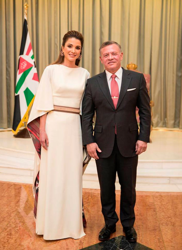 Matrimonio In Giordania : El mensaje de amor rania jordania a su esposo tras