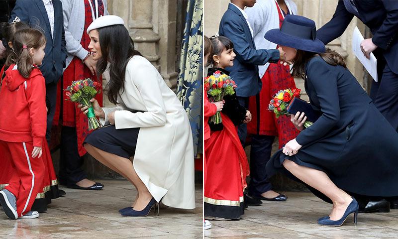 kate y meghan, ¿llevan los mismos zapatos?