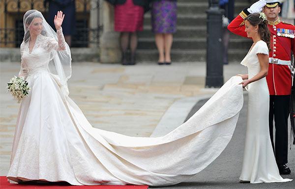 Precio vestido novia kate middleton