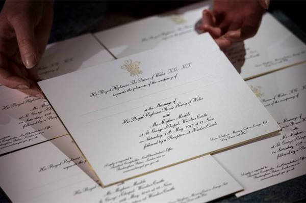 Harry Meghan invitados