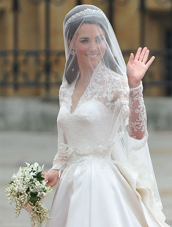 Ramo de novia de Kate Middleton