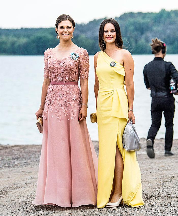 La Familia Real sueca, invitados de lujo para una boda entre amigos