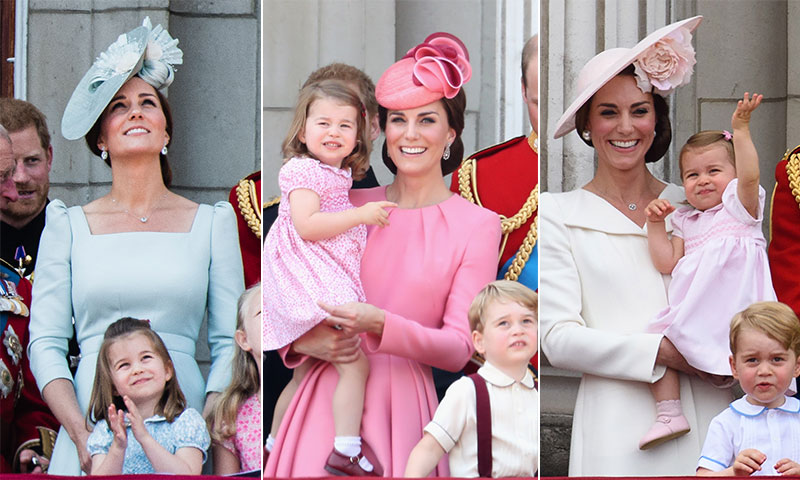 'Just like mommy!', todas las veces en las que la Princesa Charlotte ha combinado perfectamente con Kate