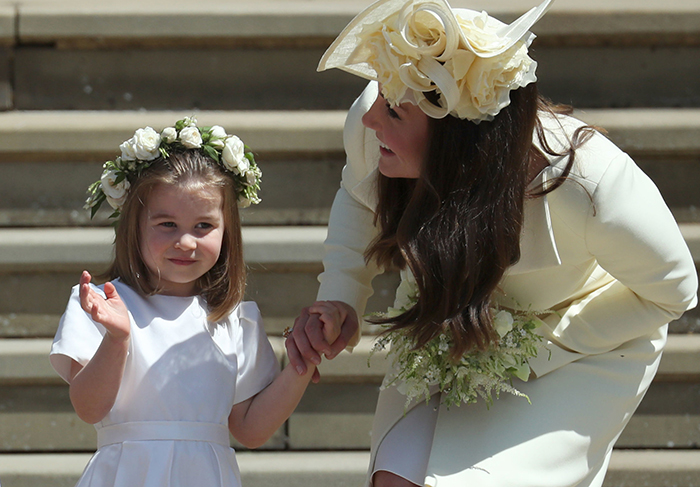 Princesa Charlotte y Duquesa de Cambridge