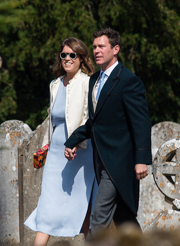 Princesa Eugenia y Jack Brooksbank