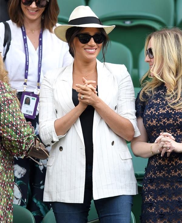 El Tierno Collar Que Meghan Llevó A Wimbledon En Honor A