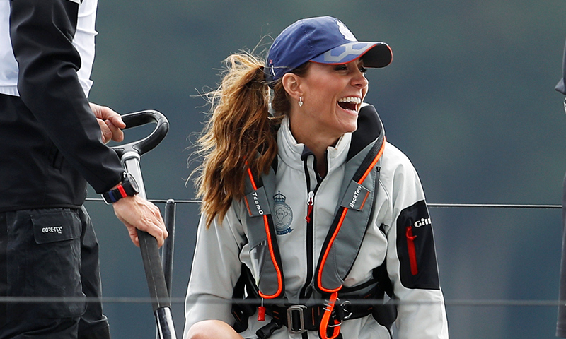 ¡Cómplices hasta en las competencias! Kate y William se enfrentan en la regata de la King's Cup