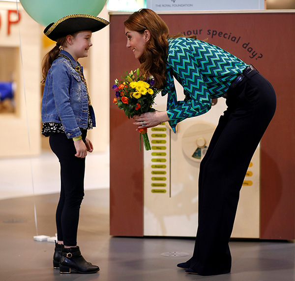Kate Middleton visita museo