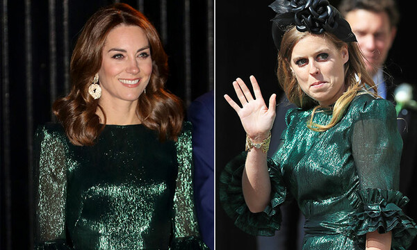 Kate Middleton y Princesa Beatriz