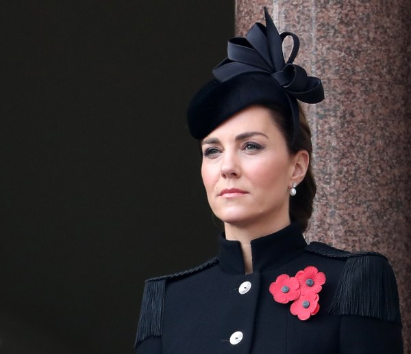 Kate Middleton, Remembrance Day 2020