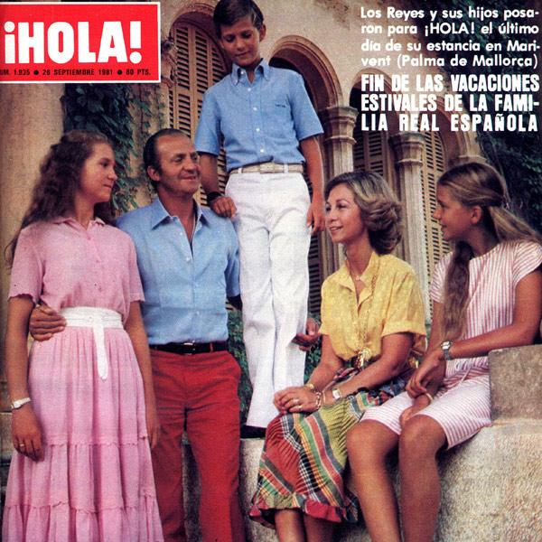 As se despidieron del verano los reyes de espa a en 1981 - Casa de los reyes de espana ...